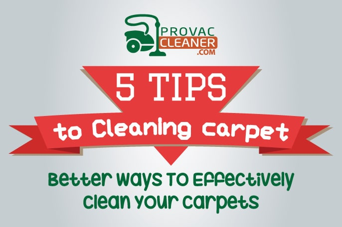 5 Tips To Cleaning Carpet